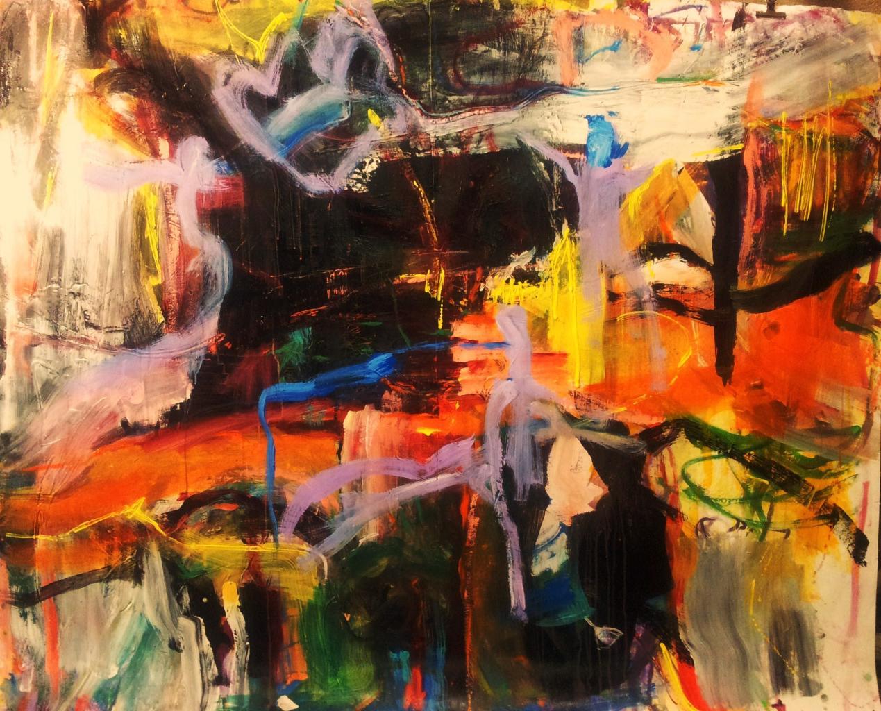 la traversée orange - 200x150 - (2012)
