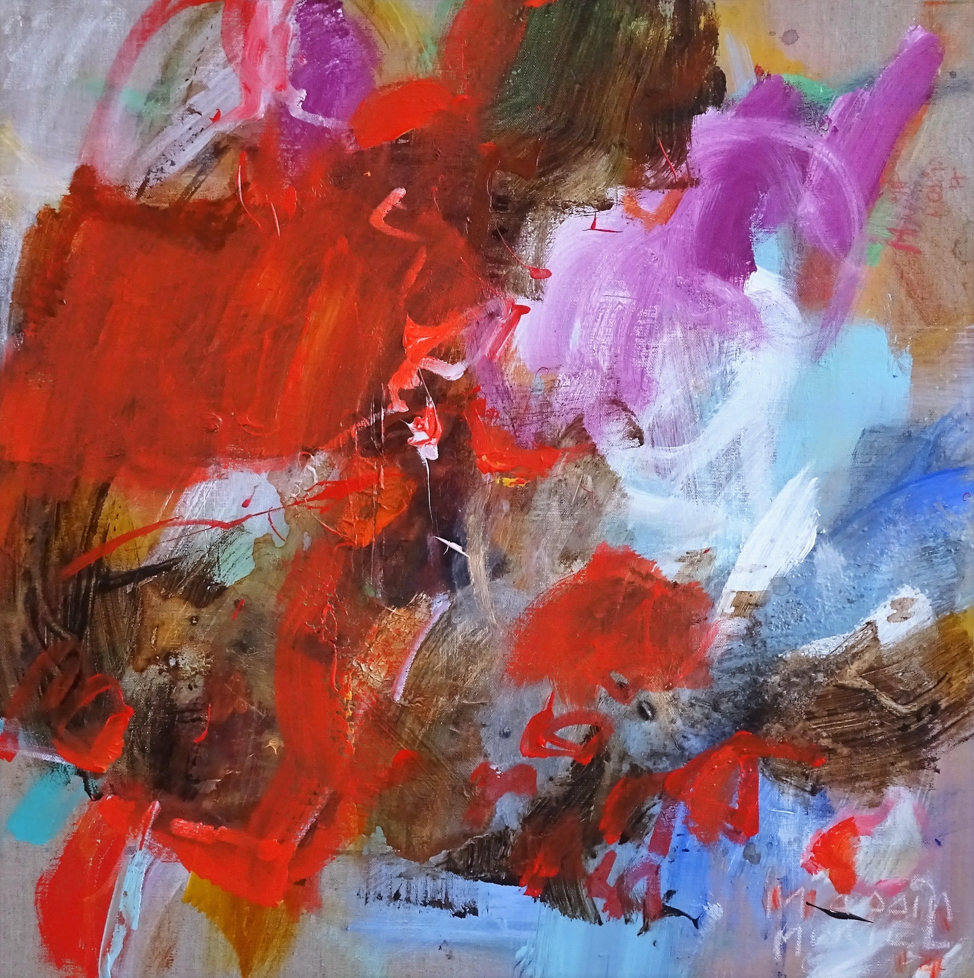 RED ENERGY  -  60x60 cm