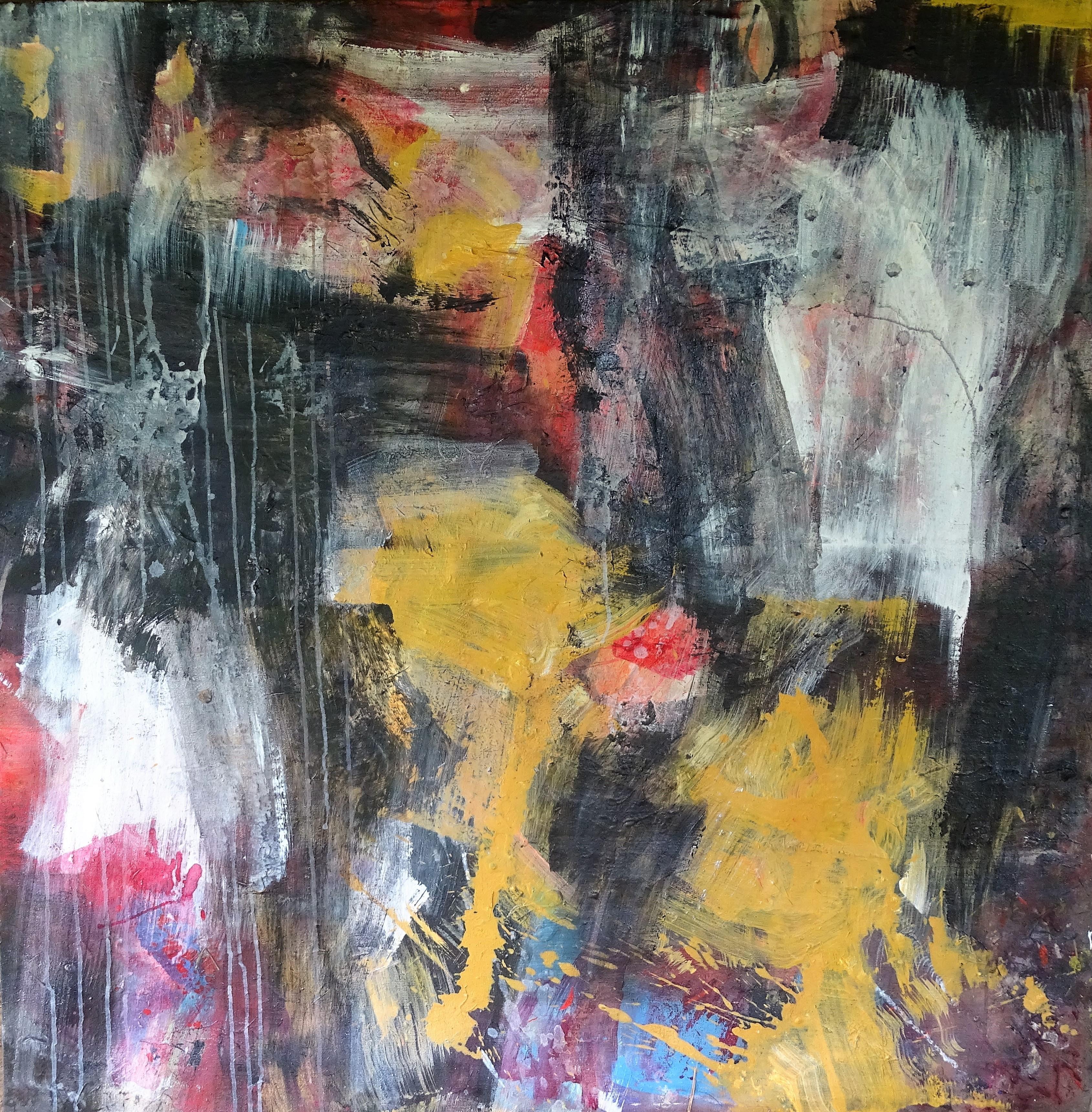 freedom - acrylic on canvas 120x120 cm