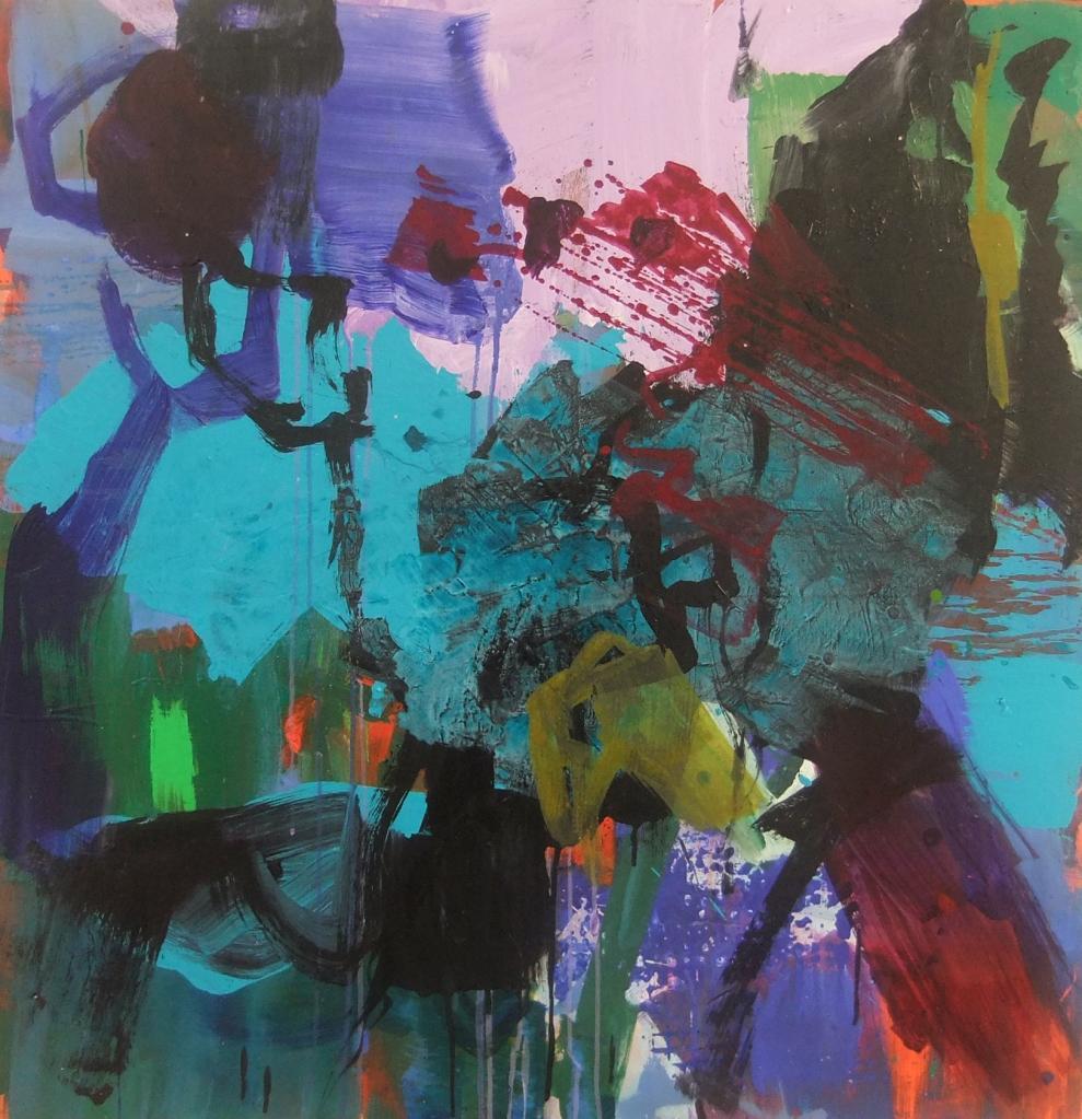 En coulisse - 120x120  (2011)