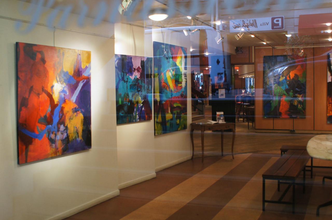 Exposition  galerie des 7 Parnassiens - Mars 2012