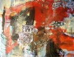 Groundartstreet  - mixed media on canvas 130x162 cm 2020