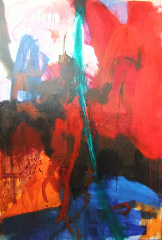 La création - 220 x 140  (2009)