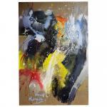 Lyrical n 3  -  acrylic on canvas 100x70 cm 2021 2