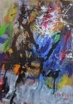 Lyrical n° 2  -  acrylic on canvas 100x70 cm 2021