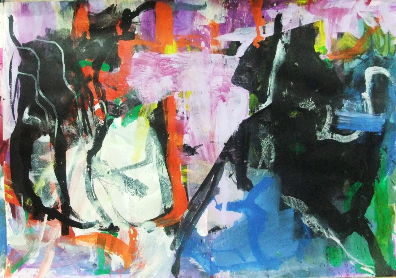 rencontre - 100 x 70 - (2011)