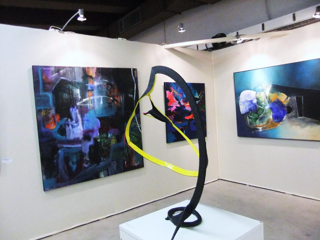 Salon d'Automne(oct 2010) tableau à g