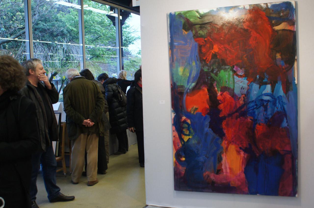 Salon des Realites Nouvelles en Avril 2012