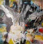 Willow  -   acrylic on canvas 100x100 cm 2020